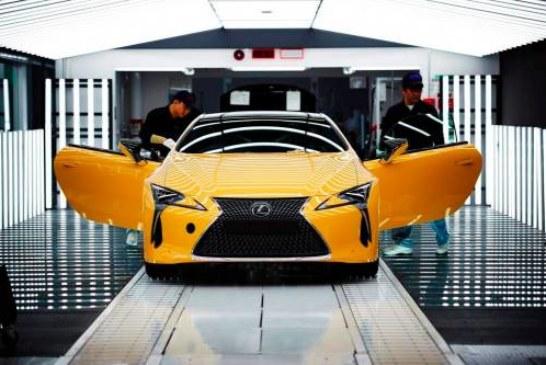 Lexus LC начали собирать для Европы
