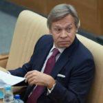 Пушков: криками «Позор!» и «Брехло!» подведен итог президентства Порошенко