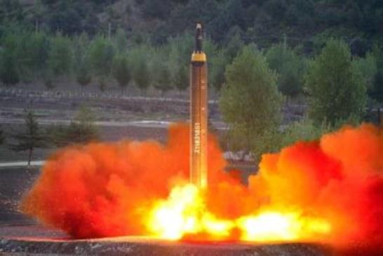 Запущенная с территории КНДР ракета упала в экономической зоне Японии