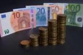Официальный курс евро на четверг вырос до 63,41 рубля