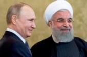 Путин поздравил Роухани с переизбранием на пост президента Ирана