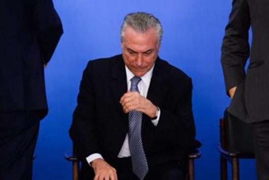 Президент Бразилии заявил, что покинет свой пост, только если его заставят
