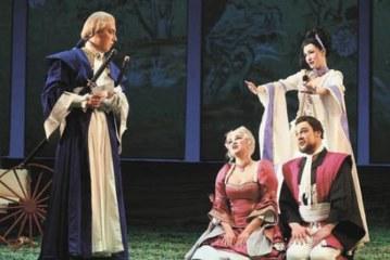 В Михайловском театре поставили «Свадьбу Фигаро» с элементами единоборств