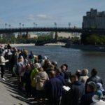 Мощные пробки в центре столицы: как проехать к христианской святыне?