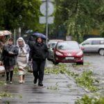 Метеорологи предупреждают о новом шторме в Москве