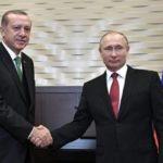 Путин и Эрдоган провели телефонные переговоры
