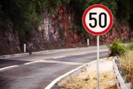 В Подмосковье ограничат скорость до 50 км/ч