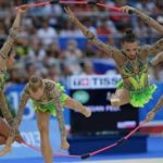 Российские гимнастки выиграли золото ЧЕ в групповых упражнениях
