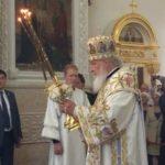 Патриарх Кирилл освятил Воскресенский собор Бишкека