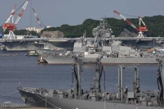 В Японском море пройдут учения с участием двух американских авианосцев