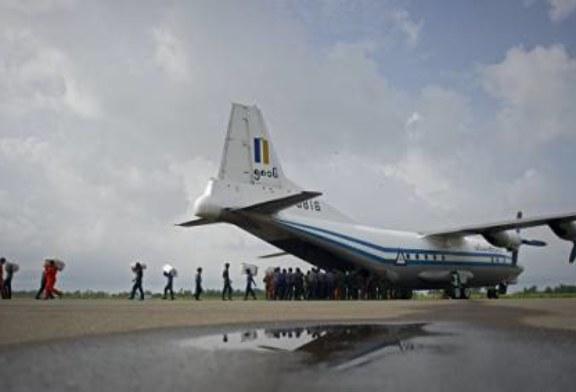 В Мьянме разбился военный самолет с сотней человек на борту