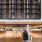 СМИ: аэропорт Брюсселя полностью блокирован из-за пожара