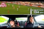 Кто круче волнуется: пилот Nissan GT-R или фанат «Спартака»?