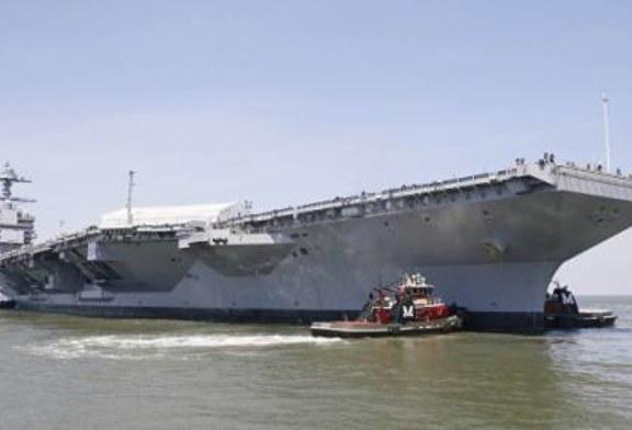 ВМС США приняли на вооружение самый дорогой военный авианосец в мире