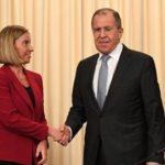 Чижов заявил, что контакты Лаврова и Могерини могут продолжиться летом