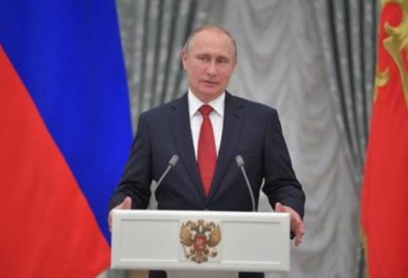 Путин сравнил проблемы США при Рейгане и в России в конце 1999 года