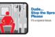 В Мадриде появился знак, запрещающий мужчинам раздвигать ноги