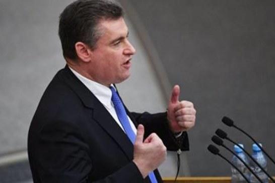 Слуцкий призвал не ждать улучшения отношений с США после слов Пенса