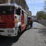 В центре Москвы из административного здания эвакуировали двести человек