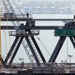 В Крыму завершили строительство ЖД-арки через Керченский пролив