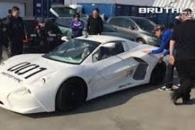 Словаки изобрели спорткар-конструктор Brutal