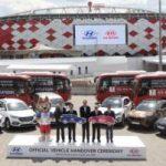 Kia и Hyundai передали футболистам 171 автомобиль и гордятся этим