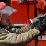 В Ростовской области загорелся ангар площадью в две тысячи «квадратов»