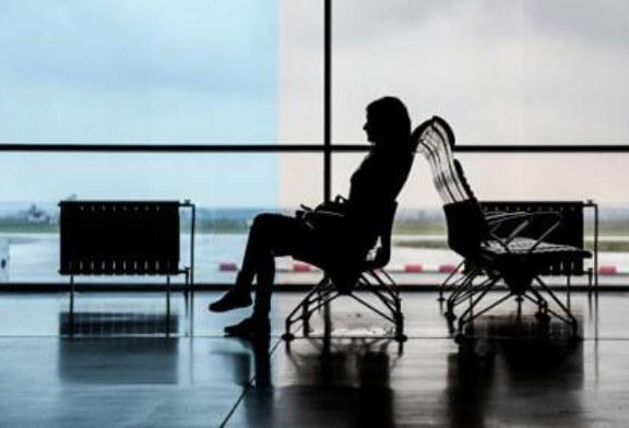 В аэропорту Екатеринбурга самолет после посадки выкатился за пределы ВПП