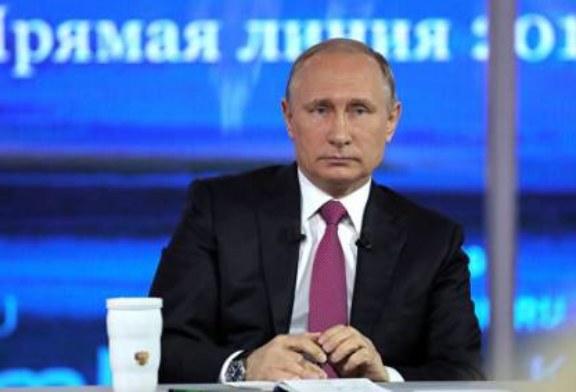 Путин ответил на вопрос о коррумпированности чиновников