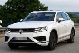 Новый Volkswagen Touareg снял маску