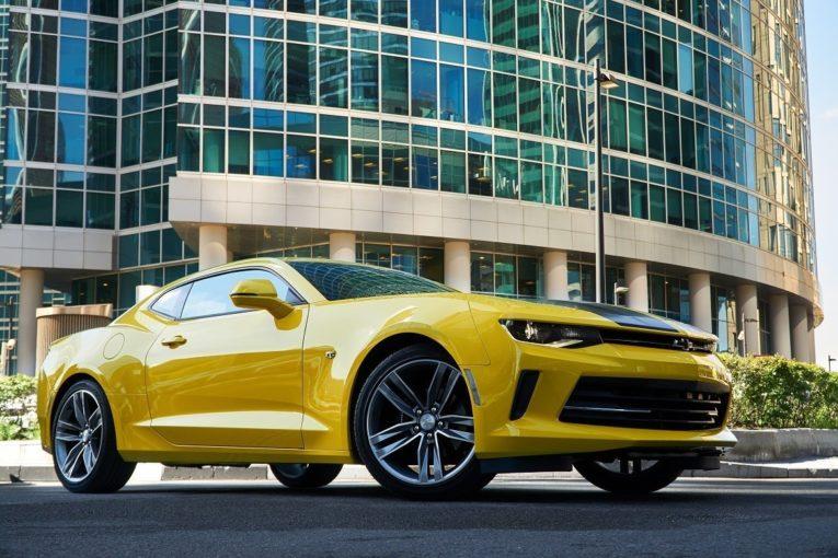 в России начались продажи спецверсии Chevrolet Camaro