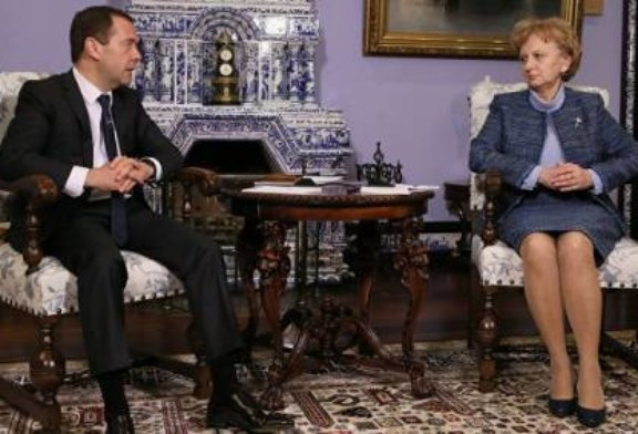 Медведев встретится с председателем партии социалистов Молдавии
