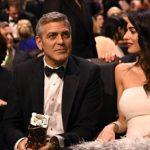 Жена Джорджа Клуни родила близнецов