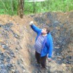 Рядом с «Домодедово» нашли кратер и фрагменты загадочного вещества