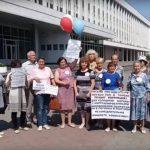 Обратившуюся к Путину томскую пенсионерку снова госпитализировали из суда