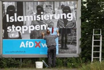 Противники ЕС заняли второе место в большинстве округов бывшей ГДР