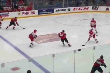 Молодежная хоккейная Суперсерия закончилась вничью, но Россия проиграла Канаде