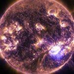 На Солнце зафиксирована редчайшая плазменная буря