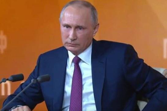 Путин вспомнил рожаюших 55-летних россиянок, говоря о повышении пенсионного возраста