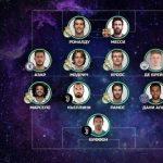 УЕФА опубликовал символическую сборную 2017 года: кого в ней нет