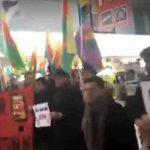 Жестокая драка курдов и турок в аэропорту Ганновера попала на видео