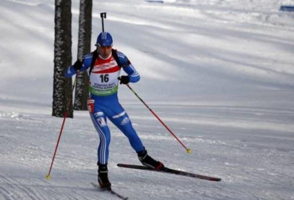 Биатлонист Шипулин финишировал четвертым в спринте на этапе Кубка мира