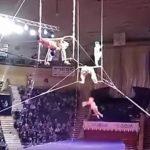 В Сети опубликовали видео падения российской гимнастки в Гомеле