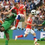 На первом матче ЧМ 2018 в Ворота Сборной России мяч никто не смог забить