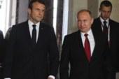 Путин: Франция заинтересована в расширении экономических контактов с РФ
