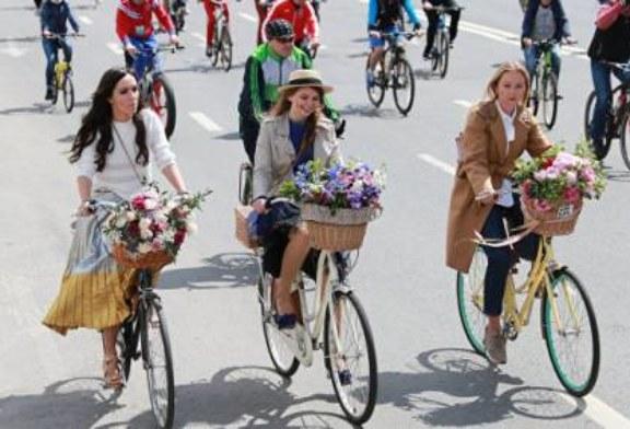 Всероссийский велопарад в Москве собрал рекордное число участников