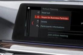 Skype для BMW