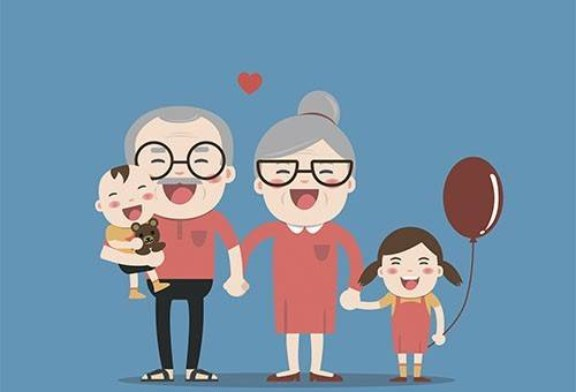 Бабушки и дедушки повышают риск развития рака у внуков