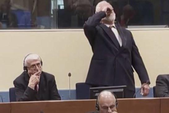 Скончался хорватский генерал, принявший яд в Гаагском трибунале